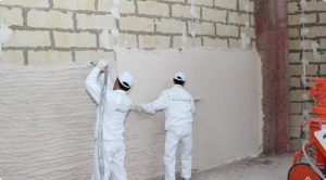 как правильно штукатурить стены