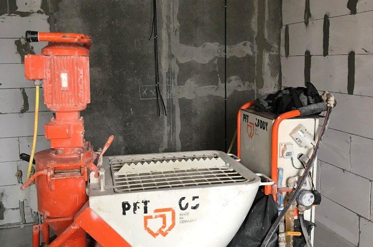 Машинная штукатурка в Киеве