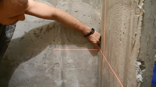 Как правильно выставить углы под маяки 90°