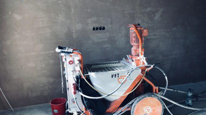 Современное Немецкое оборудование «PFT-G5 Cady-380 вольт»